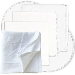 Hankies, Doilies, and Towels