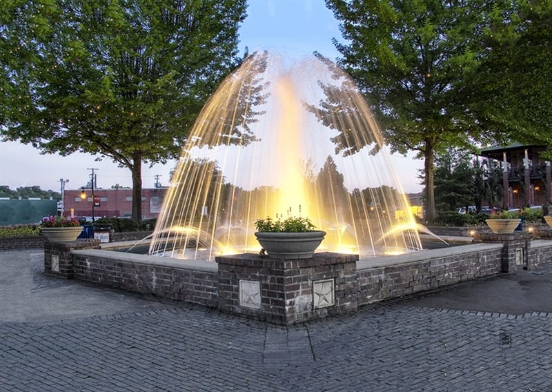 Five Points Fountain