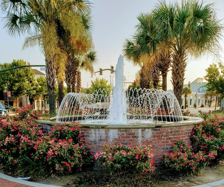 Saluda/Blossom Fountain