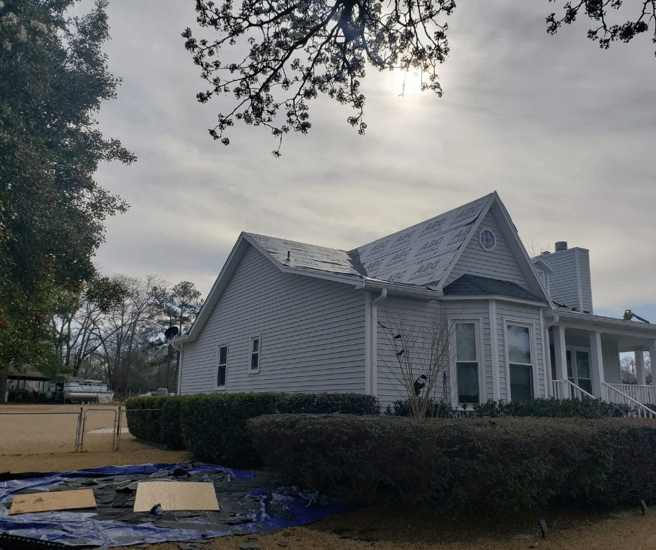 Home Damage Reconstruction with Sands Roofing & Construction