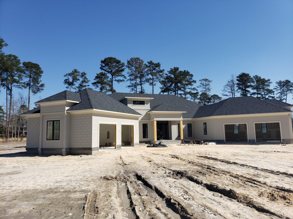 New Construction Roofing with Sands Roofing & Construction