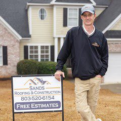 Free Estimates for Storm Damage Roofs with Sands Roofing & Construction