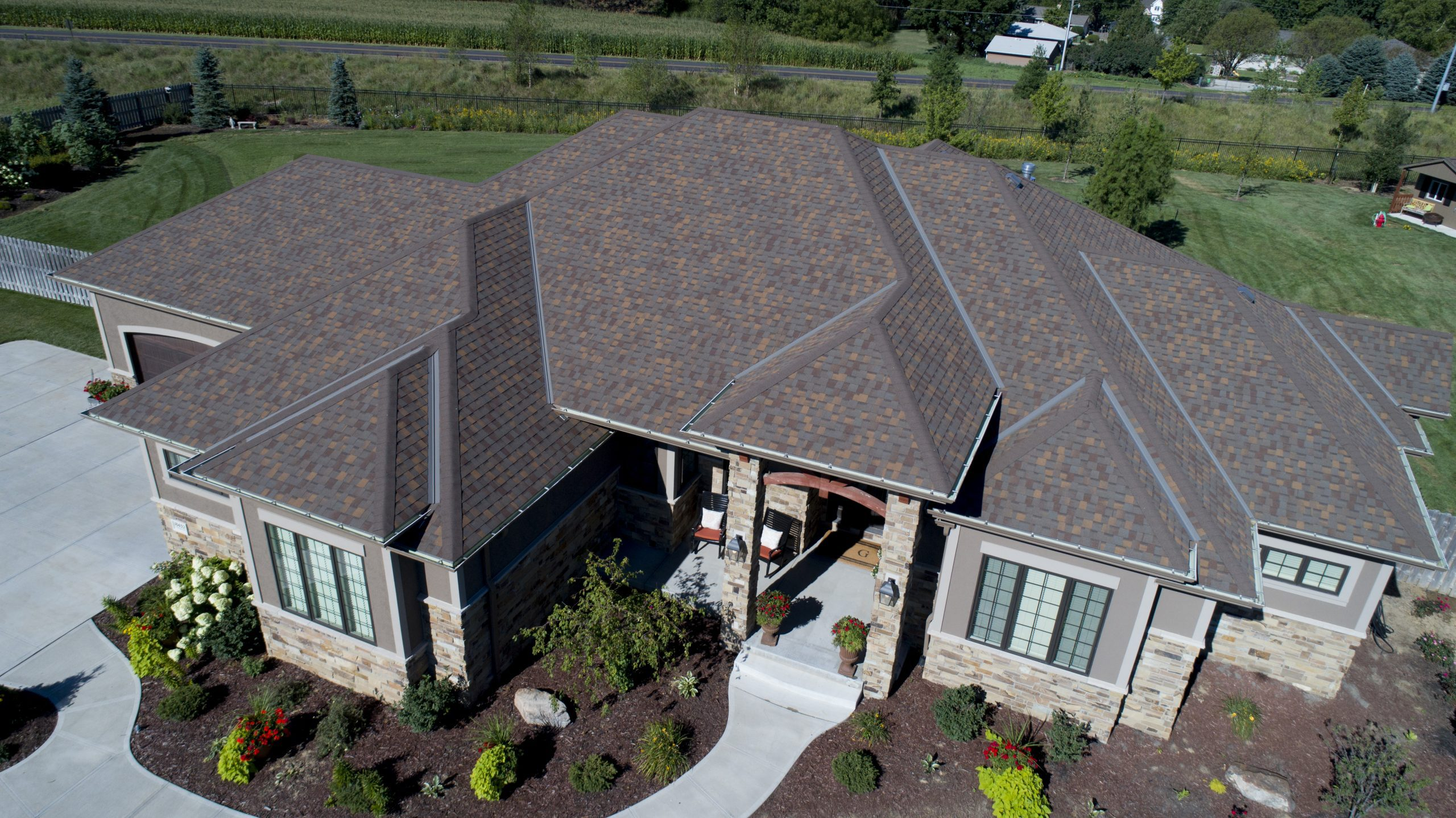 Final Installation for Residential Roof Installation at Sands Roofing & Construction